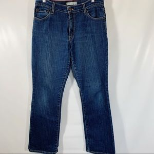 Levis 550 10 Relaxed Bootcut Medium Wash Stretch